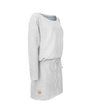 Evokaii Women Surf Dress Layback Grey Side