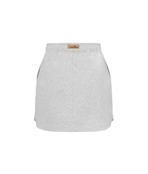 Krotka spódnica damska - tył