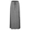 Długa sukienka z tkaniny bambusowej
