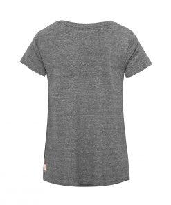 Evokaii Women Surf Style Tshirt Samoa Dark Grey Back