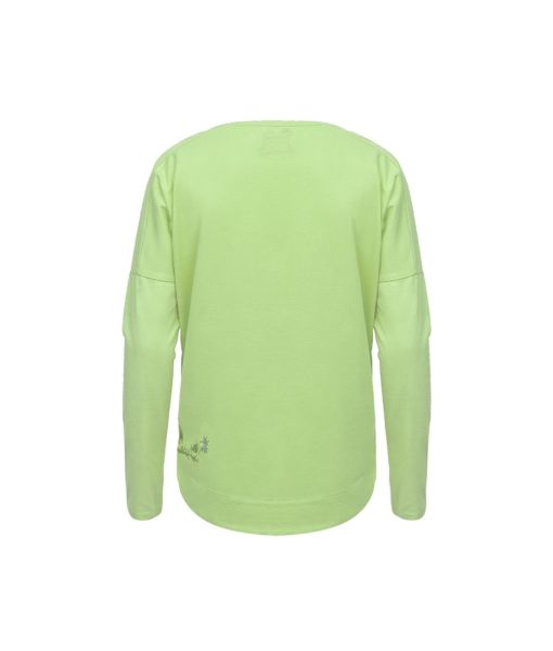 Evokaii Women Surf Style KiteGirl Tshirt Green Back
