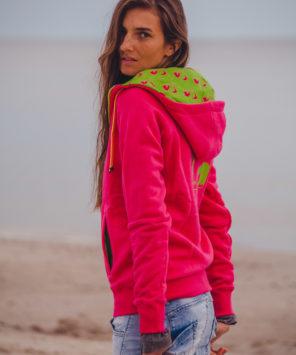 Różowa bluza Surf Style