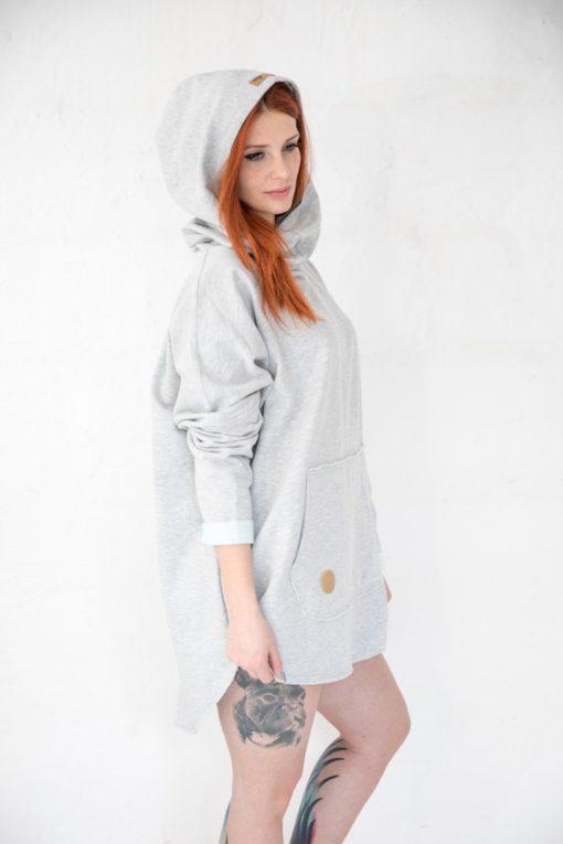 Kangoo Grey Side Model Shot