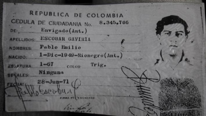 Pablo Escobar - MugShot