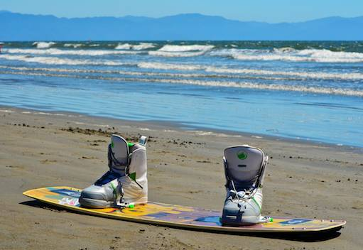 Kitesurf Board with Boots