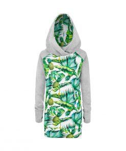 Tropikalna bluza w ananasy