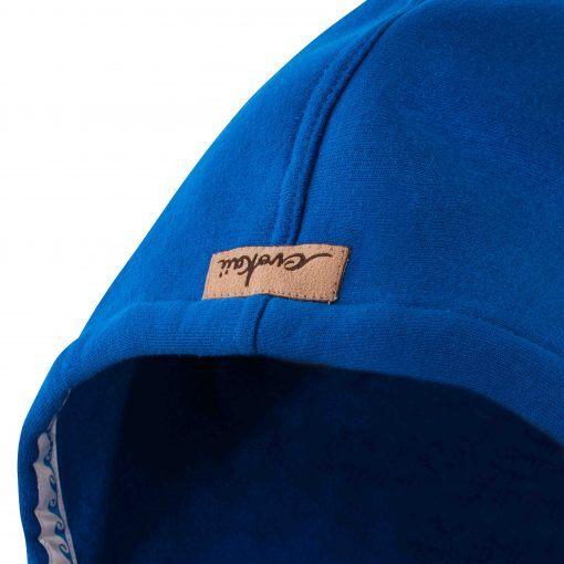 Niebieska bluza kangurka: Kangoo Dark-Blue-Hood