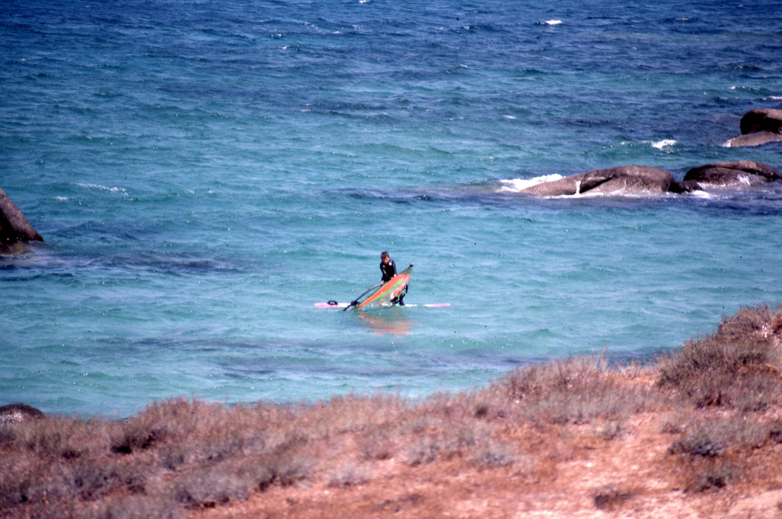 Windsurfing Training 10 Years in Naxos Greece