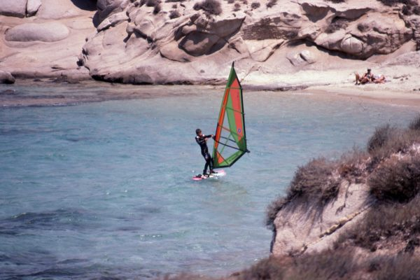 Windsurfing Training 10 Years in Naxos Greece