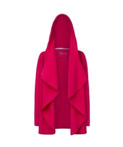 Evokaii Girls Surf Coat Aloha Short Coat Pink Front Open