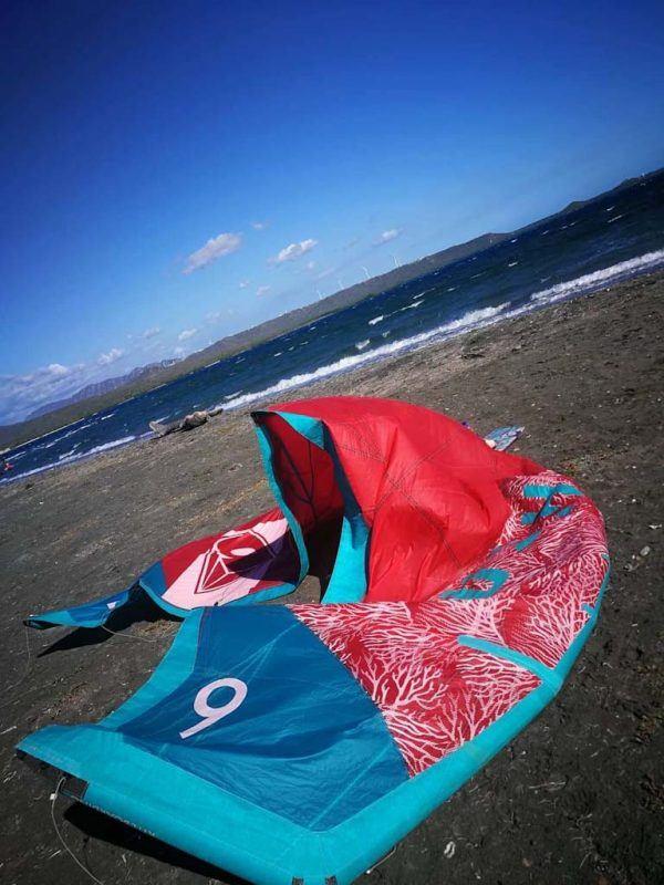 Kite Laying On Beach Dominican Republic