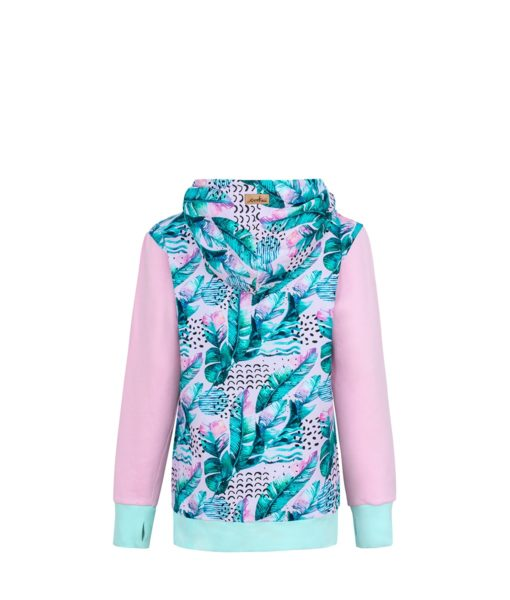 Pink Feather Hoodie