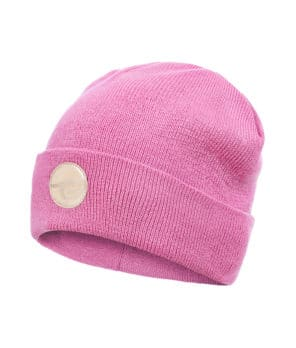 Evokaii Surf Beanie Dark Rose Colour