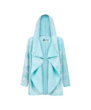 Evokaii Girls Aloha Women Surf Coat Island Vibes Mint Open
