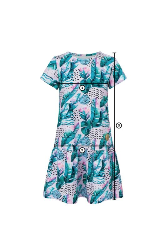 Surf Dress Feathers Candy Pink