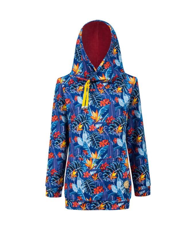Big Hooded Hoodie Snug Velvet Hood