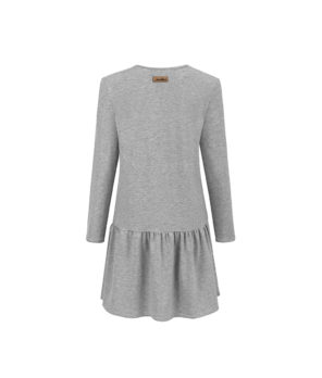 Evokaii - Bali Summer Grey Dress Beach Back