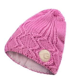 Evokaii Knitted Surf Beanie Dark Rose Colour