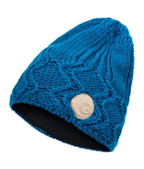 Evokaii Knitted Surf Beanie Deep Ocean Colour