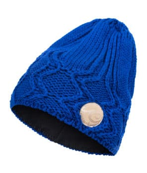 Evokaii Knitted Surf Beanie Indigo Colour