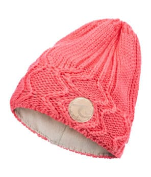 Evokaii Knitted Surf Beanie Salmon Colour