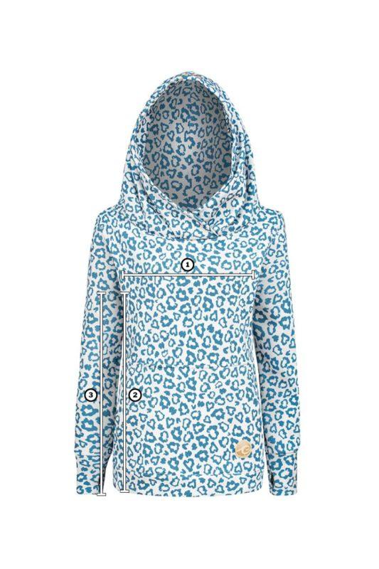 Evokaii Surf Hoodie Leopard Hoodie