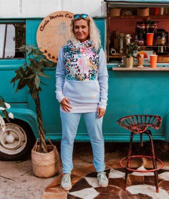 Bluza z kapturem Candy - Jungle Delight Przód