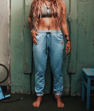 Cotton pants blue