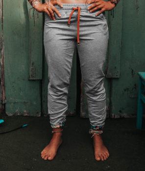 Cotton pants gray