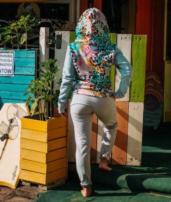 Spodnie bawełniane - tył2